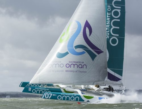 Round Ireland Speed Record Smashed by Volvo Round Ireland entry: Musandam-Oman Sail